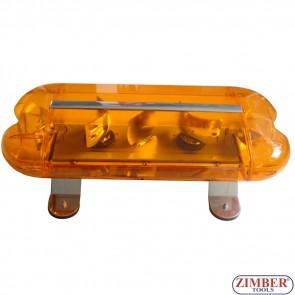 Rotator mini lightbar - 24V