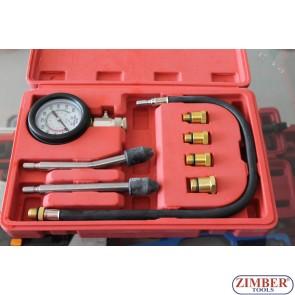 Συμπιεσόμετρο Βενζινοκινητήρα Σετ 9 Τμχ. ZT-04106 - SMANN TOOLS