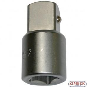 3/4 Female - 1 Inch Male Socket Adapter - 80968 - FORCE