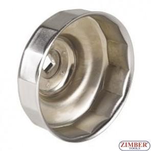 Φιλτρόκλειδο λαδιού κούπα, 84 mm x 18p PEUGEOT, CITROEN - 6318418 - FORCE