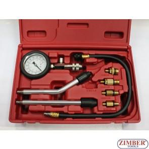 Βενζινοκινητήρα συμπίεσης Test Kit 6τεμ - ZIMBER-TOOLS.