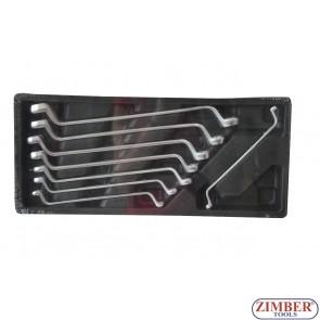 Σετ πολυγωνα κλειδια 6-22mm (8τεμ.) ZT-00822 - SMANN TOOLS.