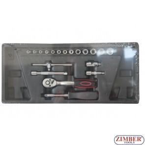 Συλλογή 1/4 σετ 19τεμαχίων, ZT-00819  - SMANN TOOLS.