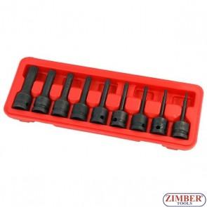 Καρυδάκια αέρος spline XZN 1/2 σετ 9 τεμαχίων M4 - M5 - M6 - M8 - M9 - M10 - M12 - M14 - M16  - 3531- NEILSEN.