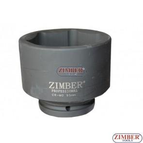 """Καρυδάκι impact 1"""" Dr. 95 mm -ZR-08IS8095M - ZIMBER-TOOLS"""
