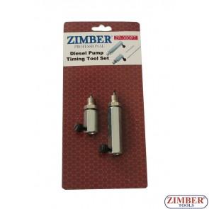 Κιτ χρονισμού αντλίας καυσίμου diesel  - Bosch, VW/Audi , ZR-36DPT - ZIMBER-TOOLS