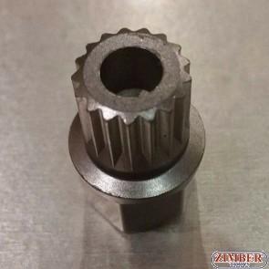 Κλειδιά για μπουλόνια ασφαλείας τροχών BMW - MINI 37 / 21 Spline - ZIMBER TOOLS