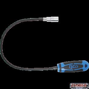 Σπιράλ με μαγνήτη και φως LED 600 mm - 1.5 kg (3187) - BGS technic