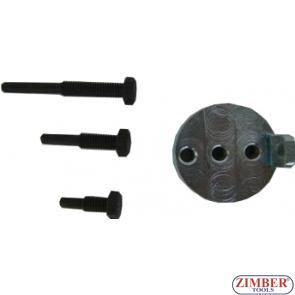 Εργαλεία αφαίρεσης και τοποθέτησης βοηθητικού ιμάντα κινητήρων BMW / Chrysler / Citroen / Fiat / Ford / Iveco / Mazda / Mercedes / Peugeot / Volvo,4pcs - ZR-36MTSFMRB - ZIMBER TOOLS