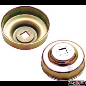 Φιλτρόκλειδο κούπα 74 mm x P14 για BENZ, BMW, AUDI,VW, OPEL (1043) - BGS technic