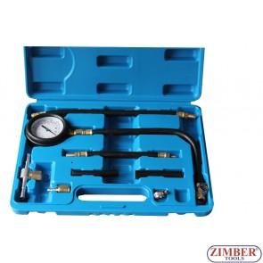 Πιεσόμετρο βενζίνης 0-7 bar (0-100 psi)- ZT-04A3006 - SMANN TOOLS.