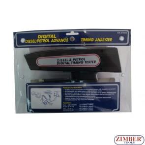 Πιστόλι ψηφιακό μέτρησης ΑΒΑΝΣ για βενζινοκινητήρες ,Ντίζελ.- ZIMBER TOOLS