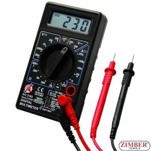 Ψηφιακό πολύμετρο -Digital Multimeter - 2182 - BGS technic