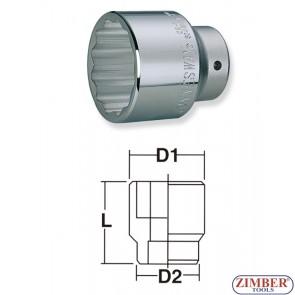 """1/2""""Dr. x 21mm Socket-6pt ZIMBER"""