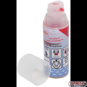 Screw Locking Fluid high strength high viscosity 50 g Pump Dispenser (80616) - BGS technic