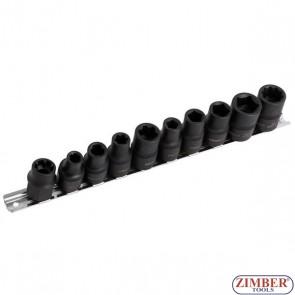 """Specialist Automotive Socket Set 1/2""""- 10pcs - 5200 - NEILSEN"""