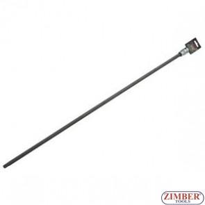 "Spline Socket Bit Extra-long M12 X 800mm 1/2""sq Drive - ZN-4008  NEILSEN."