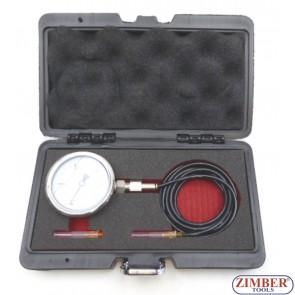 Turbo Pressure Gauge 3 Bar Fuel Injection Pressure Tester-ZT-04A3069D-SMANN TOOLS