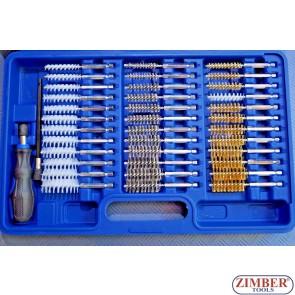 Βούρτσες διάφορες σετ 38 τεμαχίων - ZT-HGA32 - SMANN TOOLS.