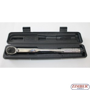 "Torque Wrench 3/8"", 19-110Nm 360mmL - ZR-17TW3802 - ZIMBER-TOOLS"