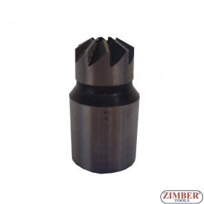 Φρέζες καθαρισμού βάσης μπέκ 1pc. FIAT / IVECO  17x21mm - ZIMBER TOOLS