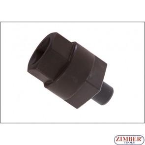 Crankshaft Turning Socket Rotate, Crankshaft Key For Audi A6, A8 - (ZR-36VACTS-B) - ZIMBER TOOLS.