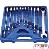 12-piece Ratchet Wrench Set, 8-19 mm