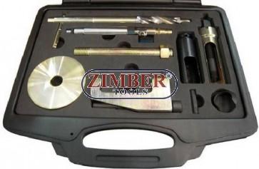 К-т за изваждане на инжектори (Дюзи) Mercedes CDI CDI  OM 611, 612, 613 - ZIMBER.