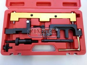 Набор инструмента для фиксации двигателя  BMW N42, N46, N46T - ZT-04537 - SMANN TOOLS