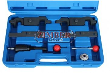 Набор инструмента для фиксации двигателя Porshe Cayenne Panamera 4.5-4.8 V8 - ZT-04A2122 -SMANN TOOLS.