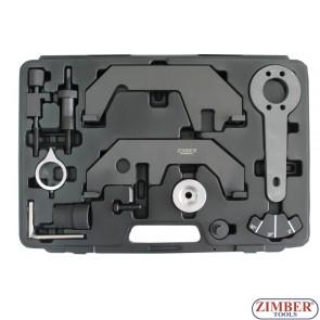 Набор инструмента для фиксации распредвала на BMW N62, N73, ZR-36ETTSB38 - ZIMBER TOOLS.