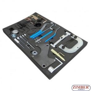 Набор инструмента для фиксации двигателя OPEL \ RENAULT  \ NISSAN, ZR-36ETTS140 - ZIMBER - TOOLS