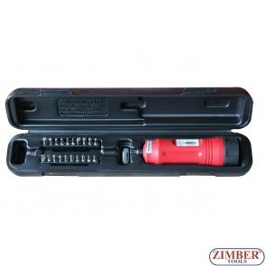 """1/4"""" Torque Screwdriver Set - ZR-16SDTS14 - ZIMBER TOOLS"""