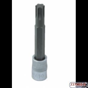"""3/8"""" Bit Socket, Ribe, М10 x 90mm (S63H3310) - JONNESWAY"""