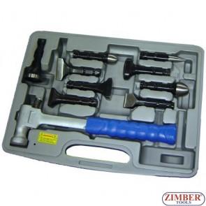 9pcs lead more hammer, ZR-36LMH - ZIMBER TOOLS.