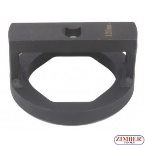 Wheel Capsule And Axle Nut Socket 120-mm, ZR-36ANSWC120 - ZIMBER TOOLS.