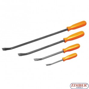 4pcs Prybar Set - ZR-36MPB04V. - ZIMBER TOOLS