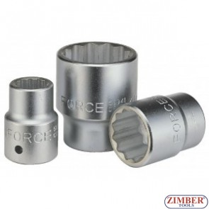 Drive socket 19mm, 3/4 12pt. - FORCE