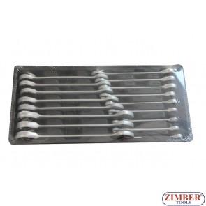 Набор ключей накидных 17 предметов , ZT-00817 - SMANN  TOOOLS.
