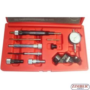Набор инструментов для регулировки топливного насоса на дизельном двигателе 11 предметов - ZR-36ETTS73- ZIMBER TOOLS