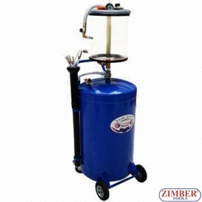Pneumatic engine Waste Oil Extractor - ZT-04472 - SMANN TOOLS
