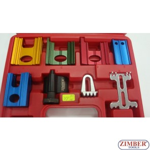 8Pcs Timing Locking Tool Kit VAUXHALL, OPEL, ASSB, ROVER, XSARA, ISUZU - ZIMBER-TOOLS