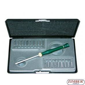 20pc Jeweller Screwdriver Set 2204 - Force