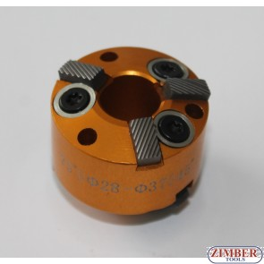 VALVE SEAT CUTTER  28-mm-37mm 75° and 45° (SPARE PART FROM-ZR-36VRST, ZR-36VRST10) - ZIMBER-TOOLS