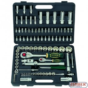Socket set  94pc - 4941-5 -FORCE
