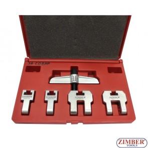 Camshaft drive belt pulley puler, ZR-36CDBPP - ZIMBER TOOLS