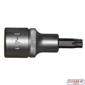1/2 Star Socket Bit T45 50mm - 34605545 (1763045) - FORCE