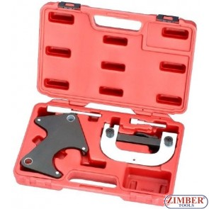 4 Pc Engine Timing Tool Set for Renault Car Garage Clio, Laguna, Megane.- 1,4 1,6 16V - ZIMBER