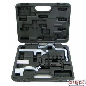 Набор инструмента для фиксации двигателя 1.4, 1.6 V16 BMW MINI, CITROEN, PEUGEOT - ZIMBER TOOLS.