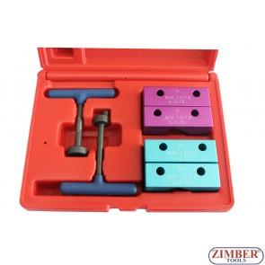 Набор инструмента для фиксации двигателя Alfa Romeo 145,146,147,155,156 1.4 1.6 1.8 2.0 TS, ZR-36ETTS37 -ZIMBER TOOLS